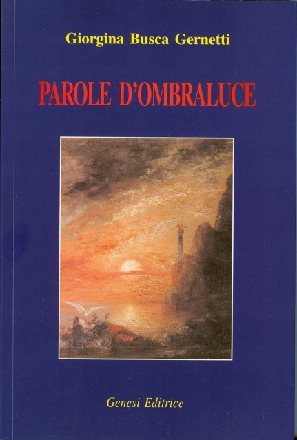 """Il libro di poesia """"Parole d'ombraluce"""""""