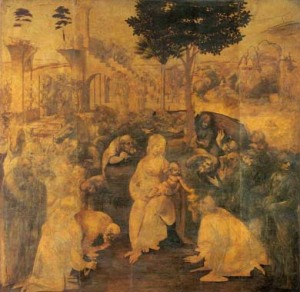 Natività Leonardo da Vinci